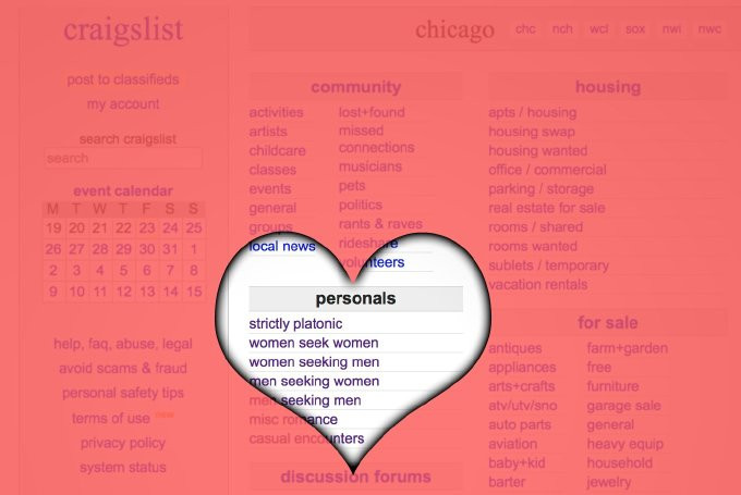 Avoiding Cheaters on Craigslist personals
